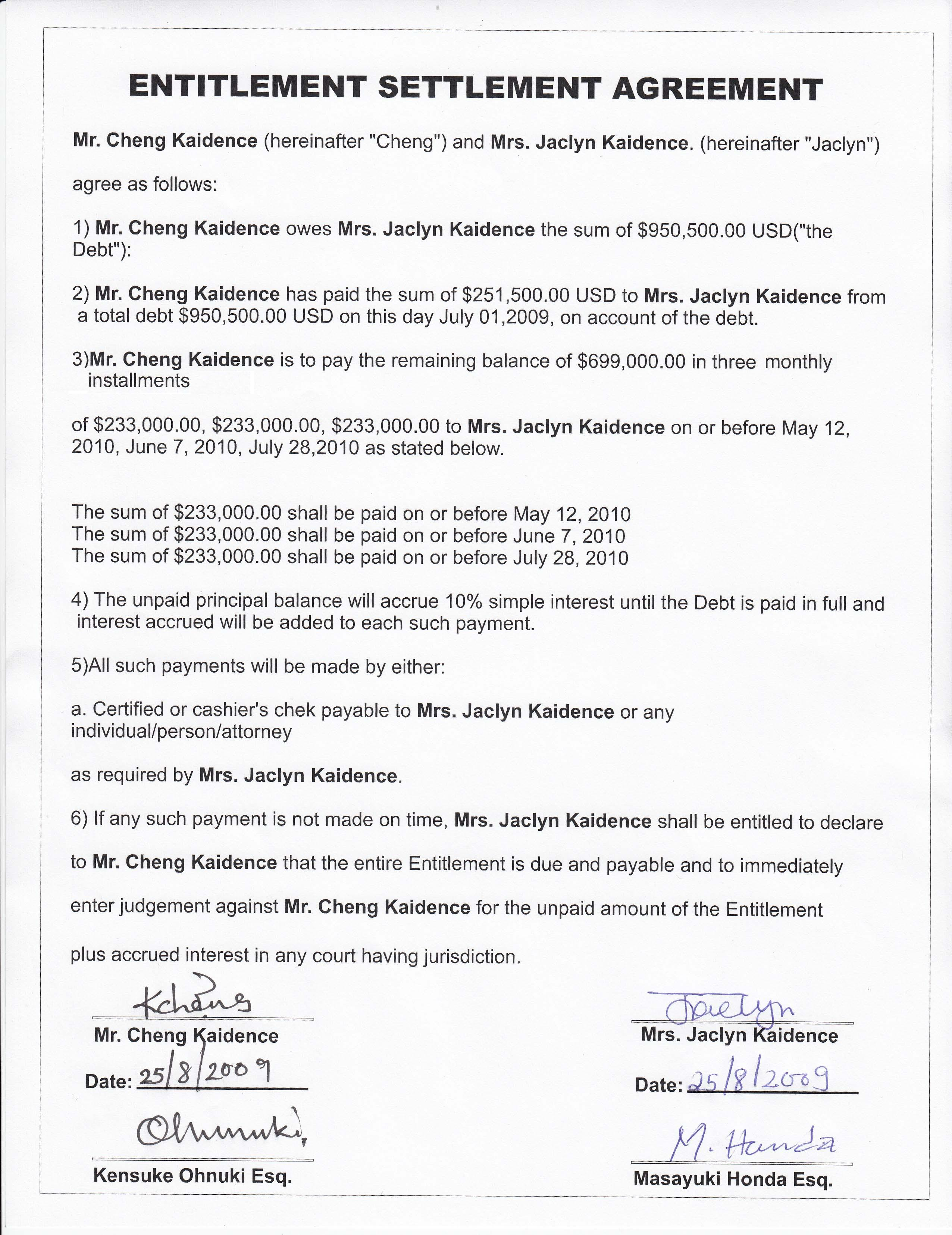 Collaborative family law agreement scam by Jacklyn Kaidence ...