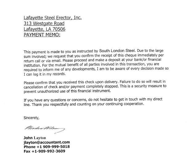Divorce cover letter