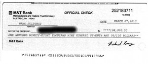 Wang Betty cheque