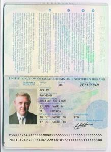 Ackley Passport