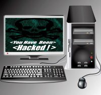 hacked computer