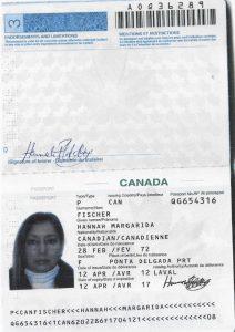 Fischer passport