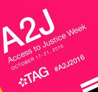 Access to Justice week logo