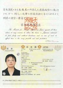 Martinez Passport