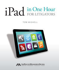 ipad for litigators cover