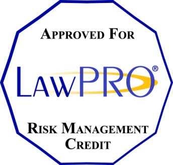 Apply for your LAWPRO Risk Management Credit by September 15