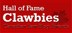 Canadian Law Blog Hall of Fame